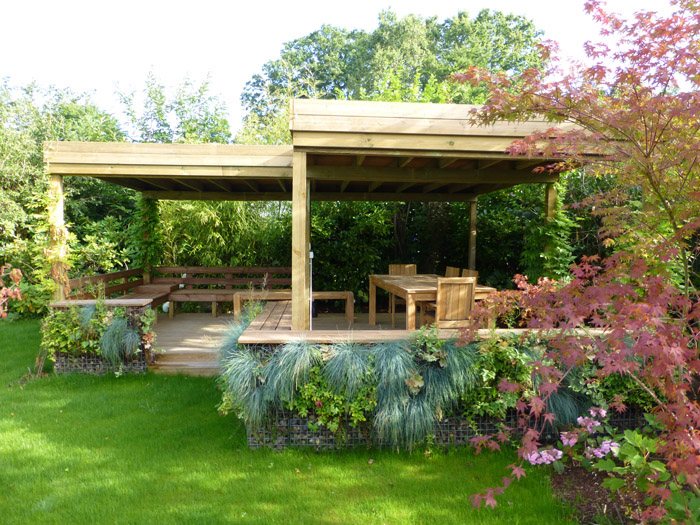 Jardins de ville horticulture et jardins for Exemple de jardin paysager