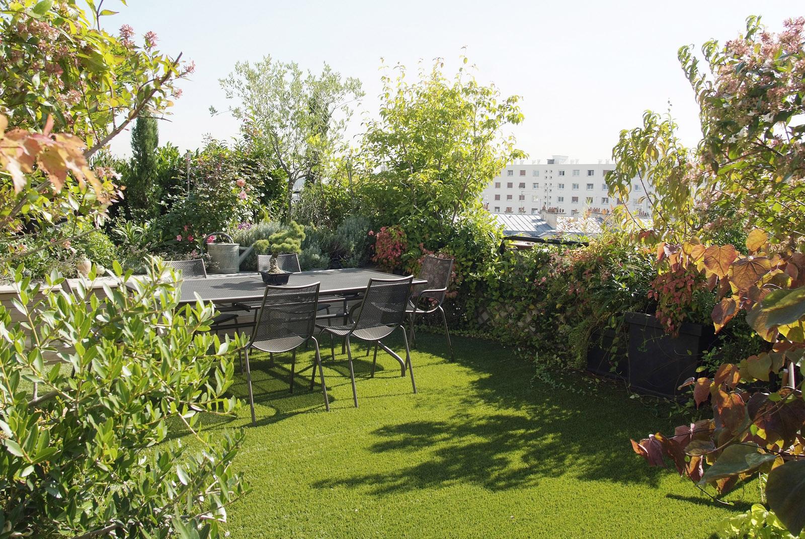 Terrasses horticulture et jardins - Amenagement terrasse et jardin photo ...